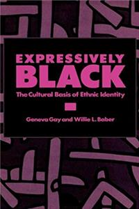 Download Expressively Black: The Cultural Basis of Ethnic Identity epub