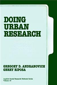 Download Doing Urban Research (Applied Social Research Methods Series, Vol. 33) epub
