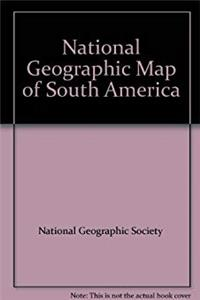 National Geographic Map of South America