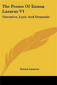 Download The Poems Of Emma Lazarus V1: Narrative, Lyric And Dramatic epub