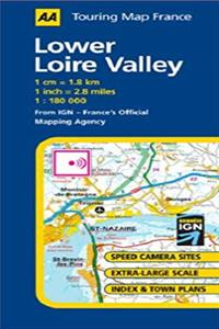 Download Lower Loire Valley (AA Road Map France) epub