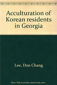 Acculturation of Korean residents in Georgia