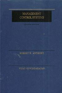 Download Management Control Systems (The Irwin Series in Graduate Accounting) epub