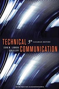 Technical Communication 5th Canadian Edition