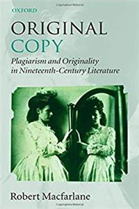 Download Original Copy: Plagiarism and Originality in Nineteenth-Century Literature epub