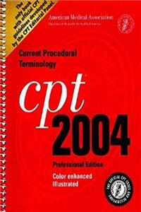 CPT 2004 Professional (Current Procedural Terminology (CPT) Professional)