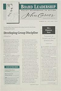 Board Leadership, No. 68, 2003 (J-B BL Single Issue                                                        Board Leadership Journal)