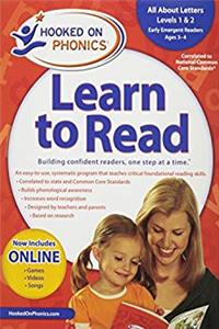 Amazon Exclusive Hooked on Phonics Learn to Read Pre-K Complete with BONUS