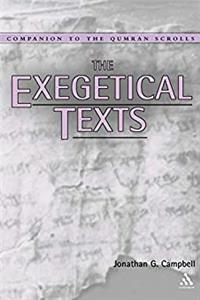 The Exegetical Texts (Companion to the Qumran Scrolls)